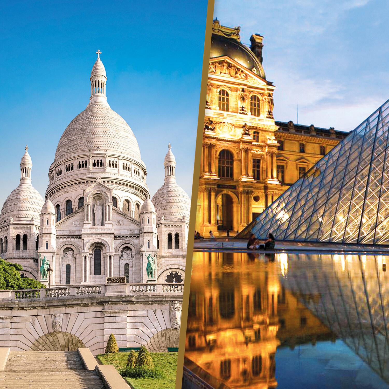 París, la Ciudad de la Luz: 2 noches con tour guiado en el Louvre para 2 personas