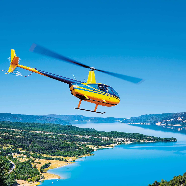 Hélicoptère pour deux