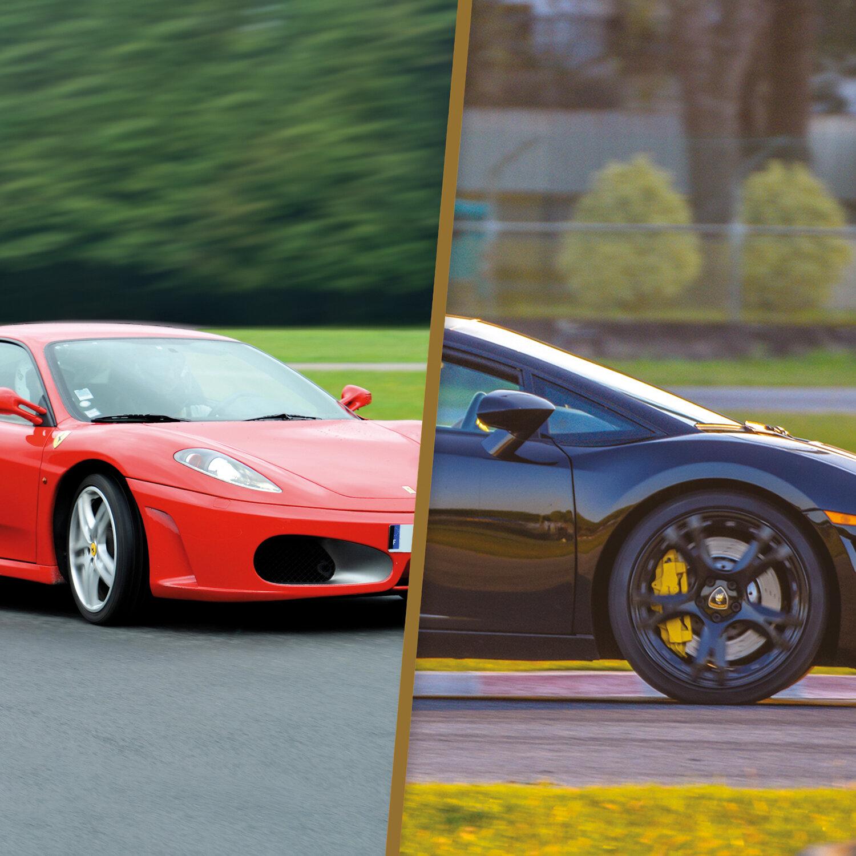 Sessions de pilotage en Ferrari et en Lamborghini Gallardo LP560