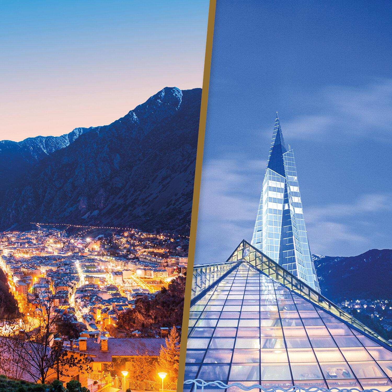 Smartbox |Escapada a Andorra: 2 noches de hotel con acceso nocturno a Caldea para 2 personas