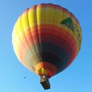 Magico volo in mongolfiera di 1 ora con bollicine per 2 persone