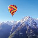Volo in mongolfiera esclusivo per 2 persone in Valle d'Aosta