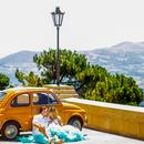 Romantico vintage tour di Genova in Fiat 500 e degustazione