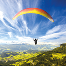 Bezaubernder Tandem-Gleitschirmflug über dem Les Diablerets-Massiv