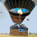 1 stimmungsvolle Heissluftballonfahrt mit Sektumtrunk