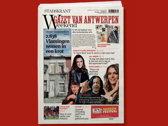 Gazet Van Antwerpen Complet Superwoman Multi Thèmes