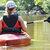 En dag på vandet med kitesurfing og kano eller kajak
