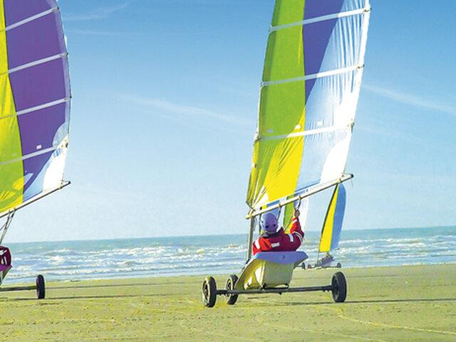 Char A Voile Adrenaline Pour Deux Sport Et Aventure