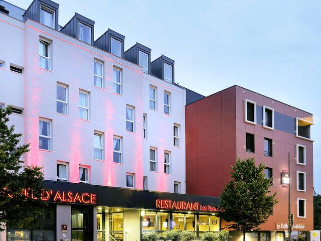 The Originals Boutique Hotel D Alsace Strasbourg Sud 3 Tage