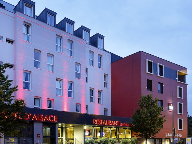 The Originals Boutique Hotel D Alsace Strasbourg Sud 3 Tage In