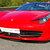 Ferrari F458 su pista